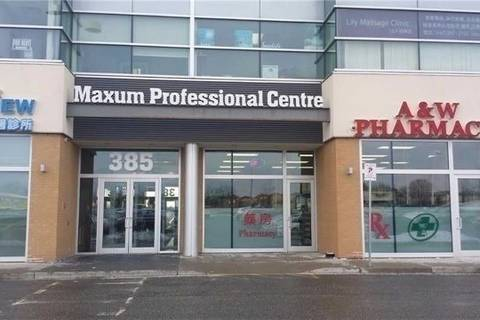 Commercial property for lease at 385 Silver Star Blvd Apartment 205 Toronto Ontario - MLS: E4558881