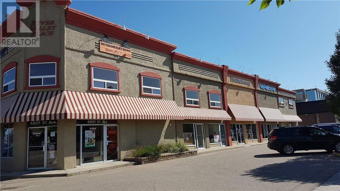 Commercial property for lease at 4801 51 Ave Apartment 205 Red Deer Alberta - MLS: ca0180689