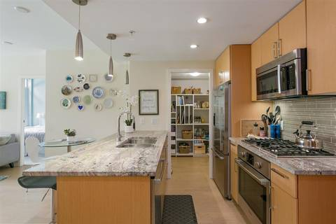 Condo for sale at 88 1st Ave W Unit 205 Vancouver British Columbia - MLS: R2395198