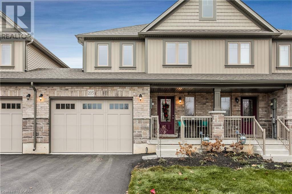Townhouse for sale at 205 Collins St Collingwood Ontario - MLS: 256550