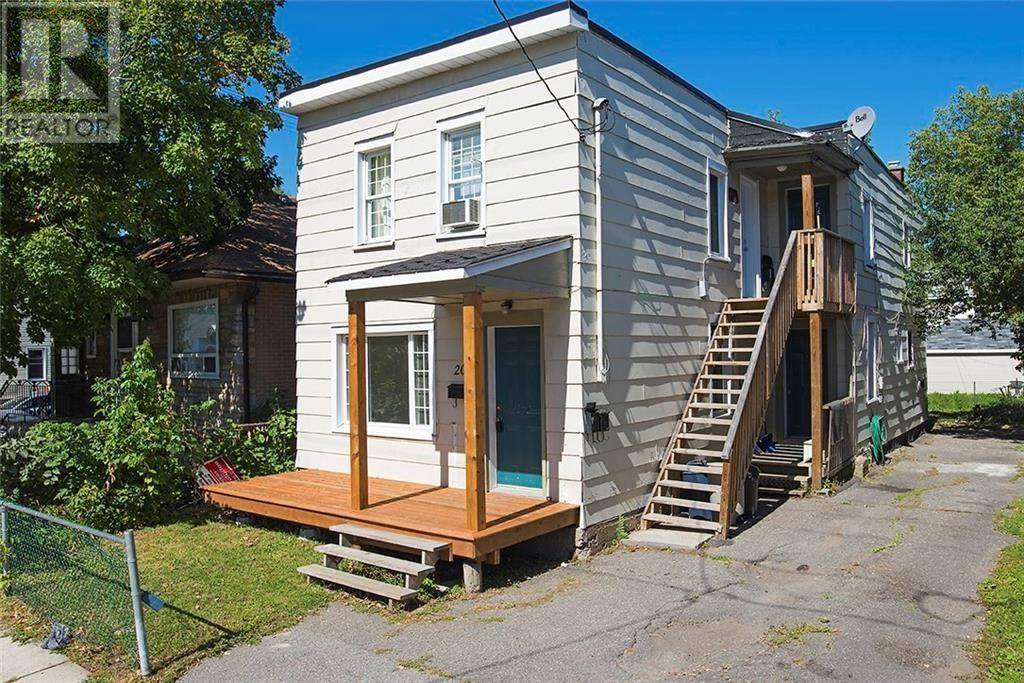 Townhouse for sale at 205 Ethel St Ottawa Ontario - MLS: 1171463