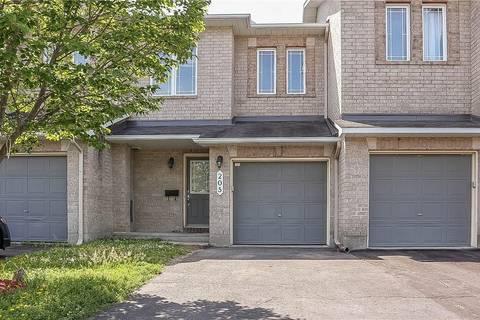 Townhouse for rent at 205 Sorento St Ottawa Ontario - MLS: 1159912