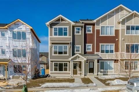 Townhouse for sale at 205 Sundown Rd Cochrane Alberta - MLS: C4292233