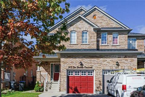 Townhouse for sale at 205 Zia Dodda Cres Brampton Ontario - MLS: W4606120