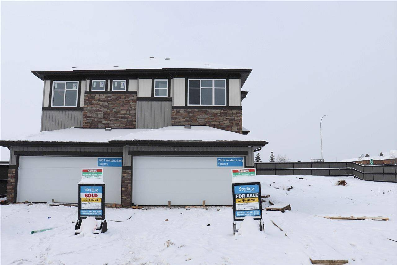 Townhouse for sale at 2056 Westerra Lo  Stony Plain Alberta - MLS: E4186884
