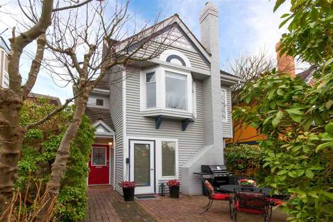 Townhouse for sale at 2058 14th Ave W Vancouver British Columbia - MLS: R2412446