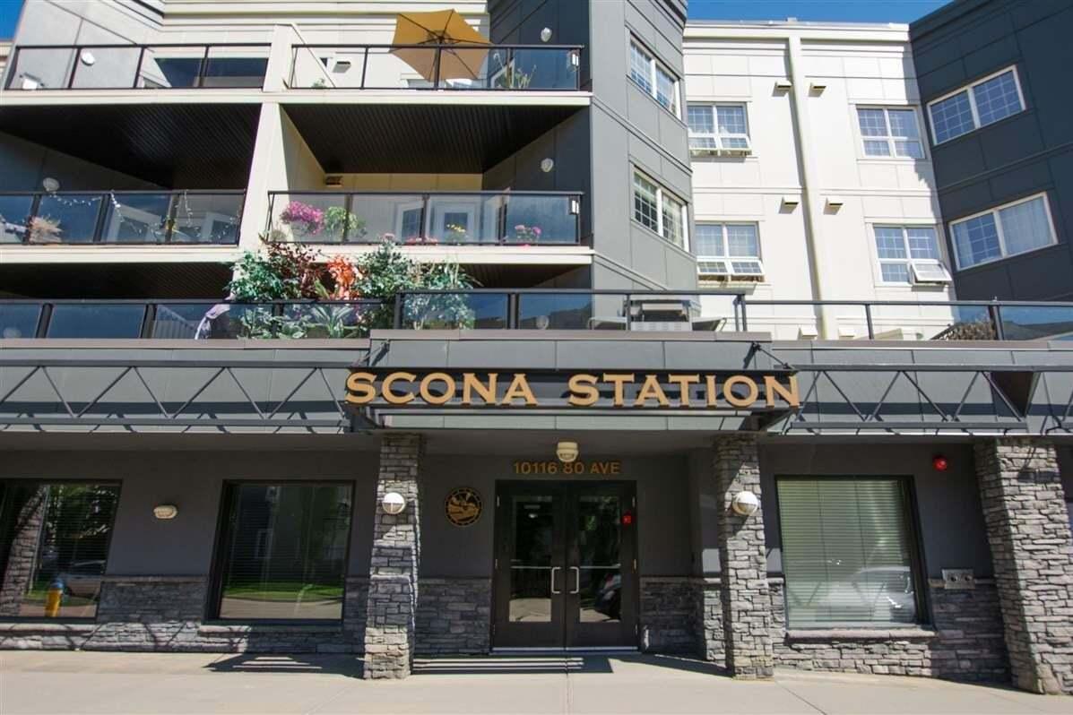Condo for sale at 10116 80 Av NW Unit 206 Edmonton Alberta - MLS: E4208969