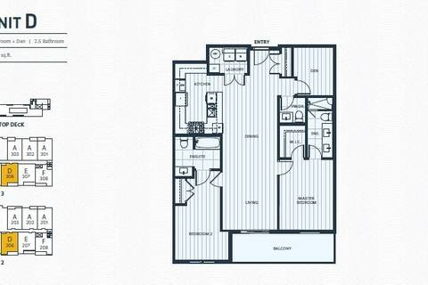 Condo for sale at 3755 Chatham St Unit 206 Richmond British Columbia - MLS: R2447492