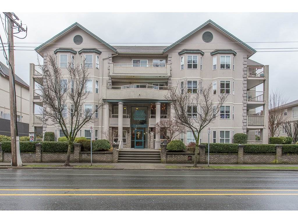For Sale: 206 - 46693 Yale Road, Chilliwack, BC | 1 Bed, 1 Bath Condo for $219,900. See 20 photos!