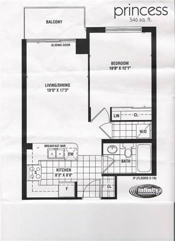 Apartment for rent at 51 Lower Simcoe St Unit 206 Toronto Ontario - MLS: C4654065