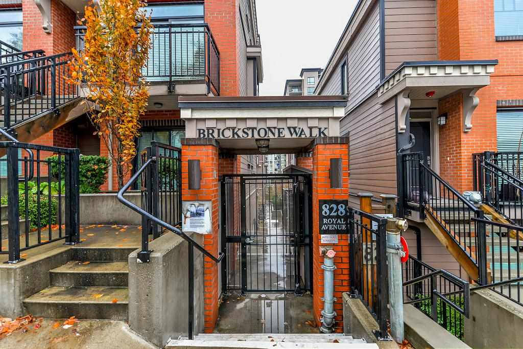 For Sale: 206 - 828 Royal Avenue, New Westminster, BC | 2 Bed, 3 Bath Townhouse for $568,000. See 19 photos!