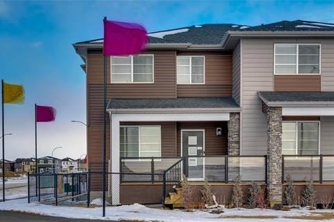 Townhouse for sale at 206 Cornerstone Ht Northeast Calgary Alberta - MLS: C4286355