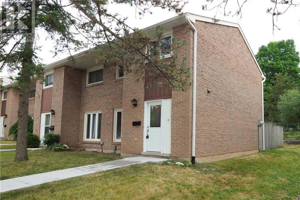 Townhouse for sale at 206 Green Valley Dr Kitchener Ontario - MLS: 30822369
