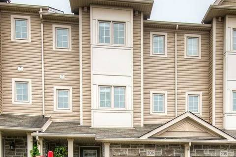 Townhouse for sale at 206 Templewood Dr Kitchener Ontario - MLS: X4555664