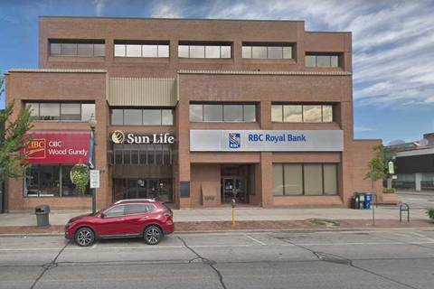 Commercial property for lease at 277 Lakeshore Rd Apartment 207 Oakville Ontario - MLS: W4506202