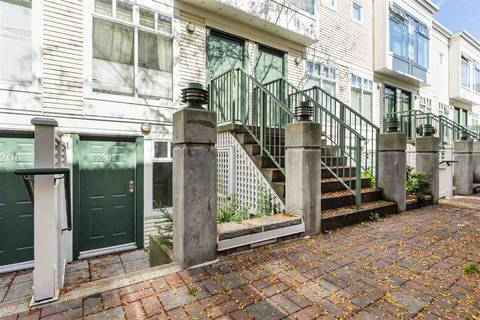 Townhouse for sale at 3727 10th Ave W Unit 207 Vancouver British Columbia - MLS: R2412158