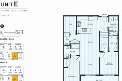 Condo for sale at 3755 Chatham St Unit 207 Richmond British Columbia - MLS: R2450270