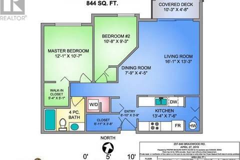 Condo for sale at 840 Braidwood Rd Unit 207 Courtenay British Columbia - MLS: 454101
