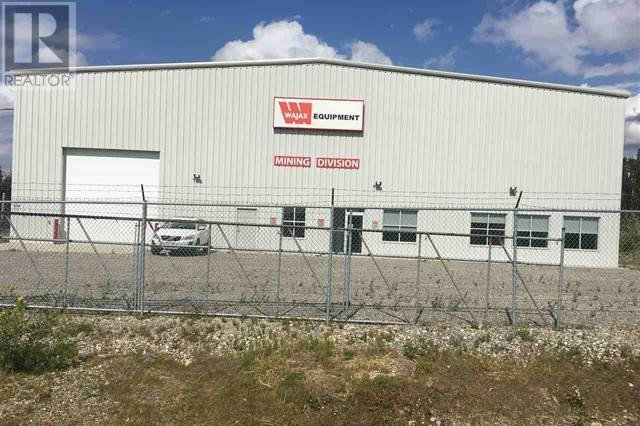 Commercial property for sale at 207 Commercial Pk Tumbler Ridge British Columbia - MLS: 182014