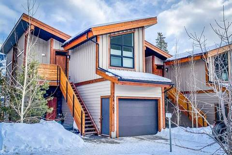Townhouse for sale at 207 Riva Heights Ht Canmore Alberta - MLS: C4283411