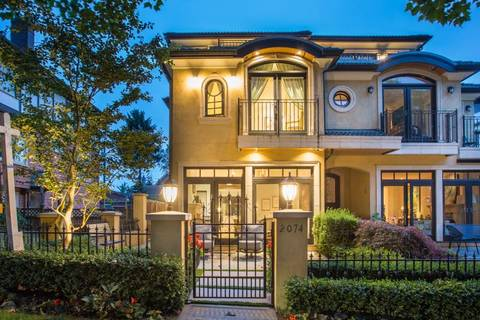 Townhouse for sale at 2074 Mcnicoll Ave Vancouver British Columbia - MLS: R2352126