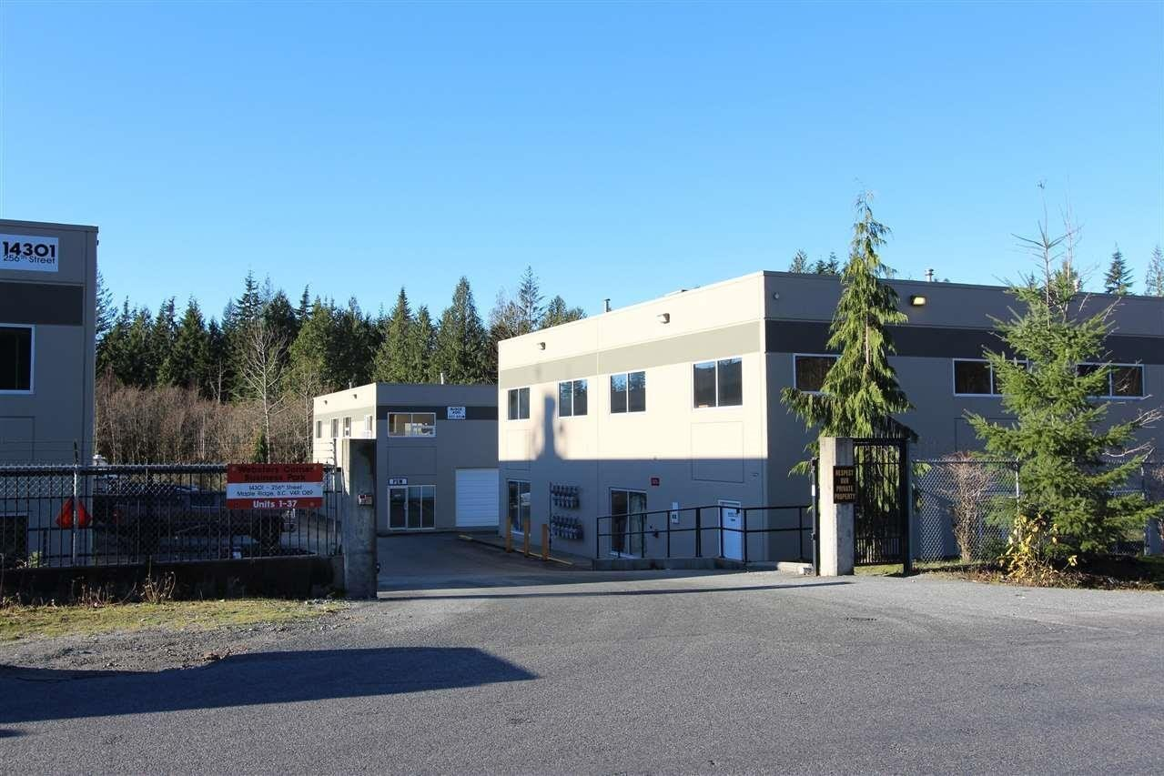 Commercial property for sale at 14301 256 St Unit 208 Maple Ridge British Columbia - MLS: C8035627