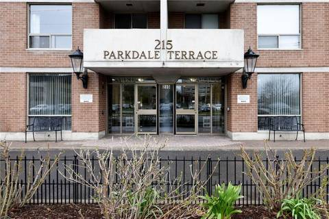 Condo for sale at 215 Parkdale Ave Unit 208 Ottawa Ontario - MLS: 1151628