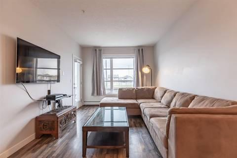 Condo for sale at 2590 Anderson Wy Sw Unit 208 Edmonton Alberta - MLS: E4165729
