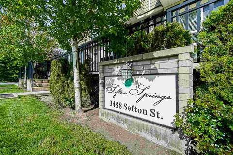 Townhouse for sale at 3488 Sefton St Unit 208 Port Coquitlam British Columbia - MLS: R2364256