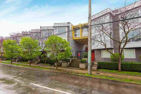 Townhouse for sale at 670 6th Ave W Unit 208 Vancouver British Columbia - MLS: R2357543