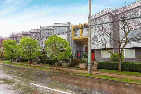 Townhouse for sale at 670 6th Ave W Unit 208 Vancouver British Columbia - MLS: R2379854