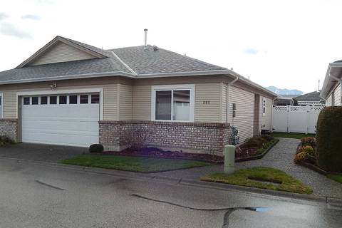 Townhouse for sale at 8485 Young Rd Unit 208 Chilliwack British Columbia - MLS: R2365276