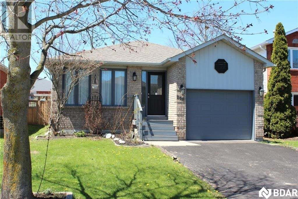 House for sale at 208 Bishop Dr Barrie Ontario - MLS: 30768861