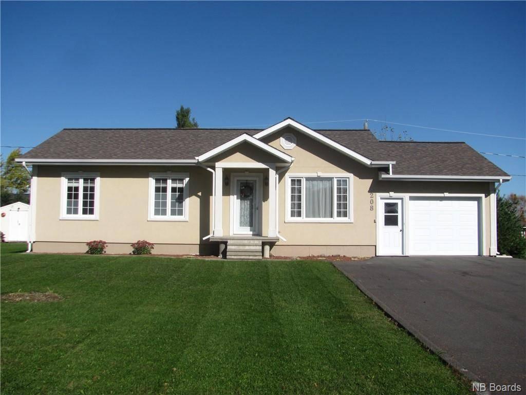 House for sale at 208 Corbin St Grand Sault/grand Falls New Brunswick - MLS: NB034996