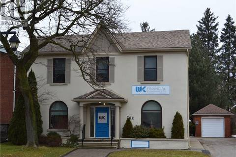 Commercial property for sale at 208 Ontario St Stratford Ontario - MLS: 30706166
