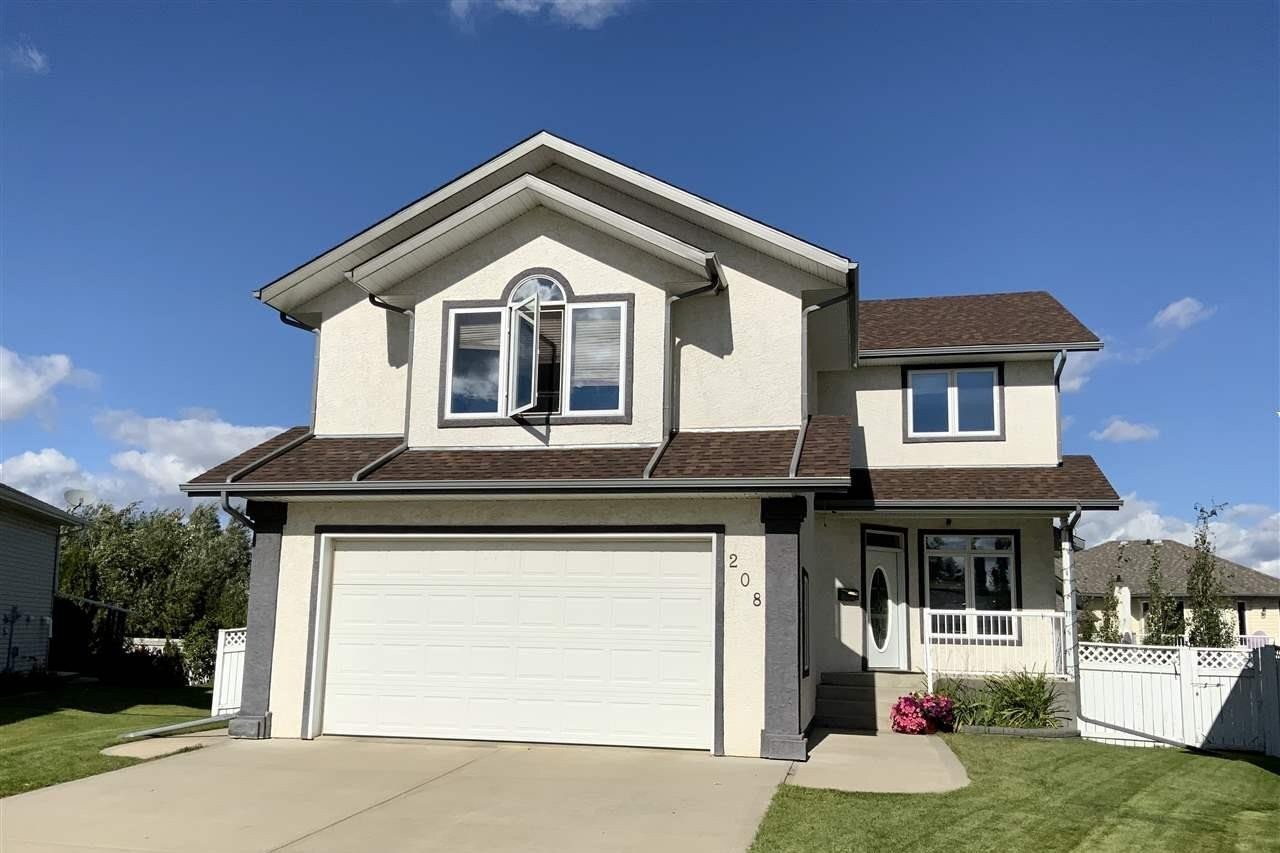 House for sale at 208 Parkglen Cl Wetaskiwin Alberta - MLS: E4212819