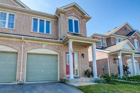 Townhouse for sale at 208 Tom Taylor Cres Newmarket Ontario - MLS: N4553000