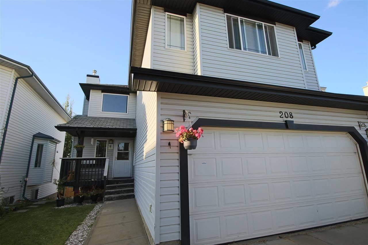 House for sale at 208 Wyman Ln Nw Edmonton Alberta - MLS: E4174878