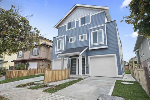 Townhouse for sale at 2086 35 Ave E Vancouver British Columbia - MLS: R2420087