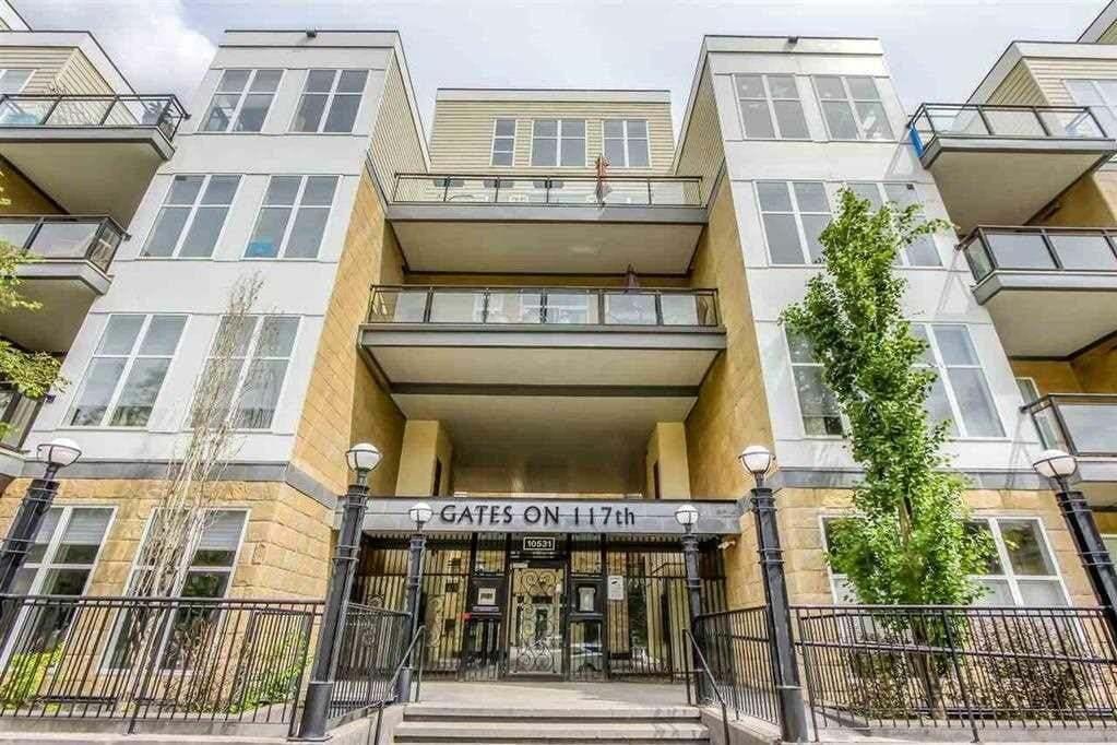 Condo for sale at 10531 117 St NW Unit 209 Edmonton Alberta - MLS: E4212036