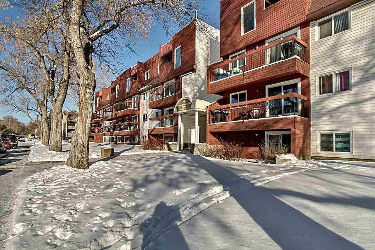 Condo for sale at 10555 93 St NW Unit 209 Edmonton Alberta - MLS: E4220894