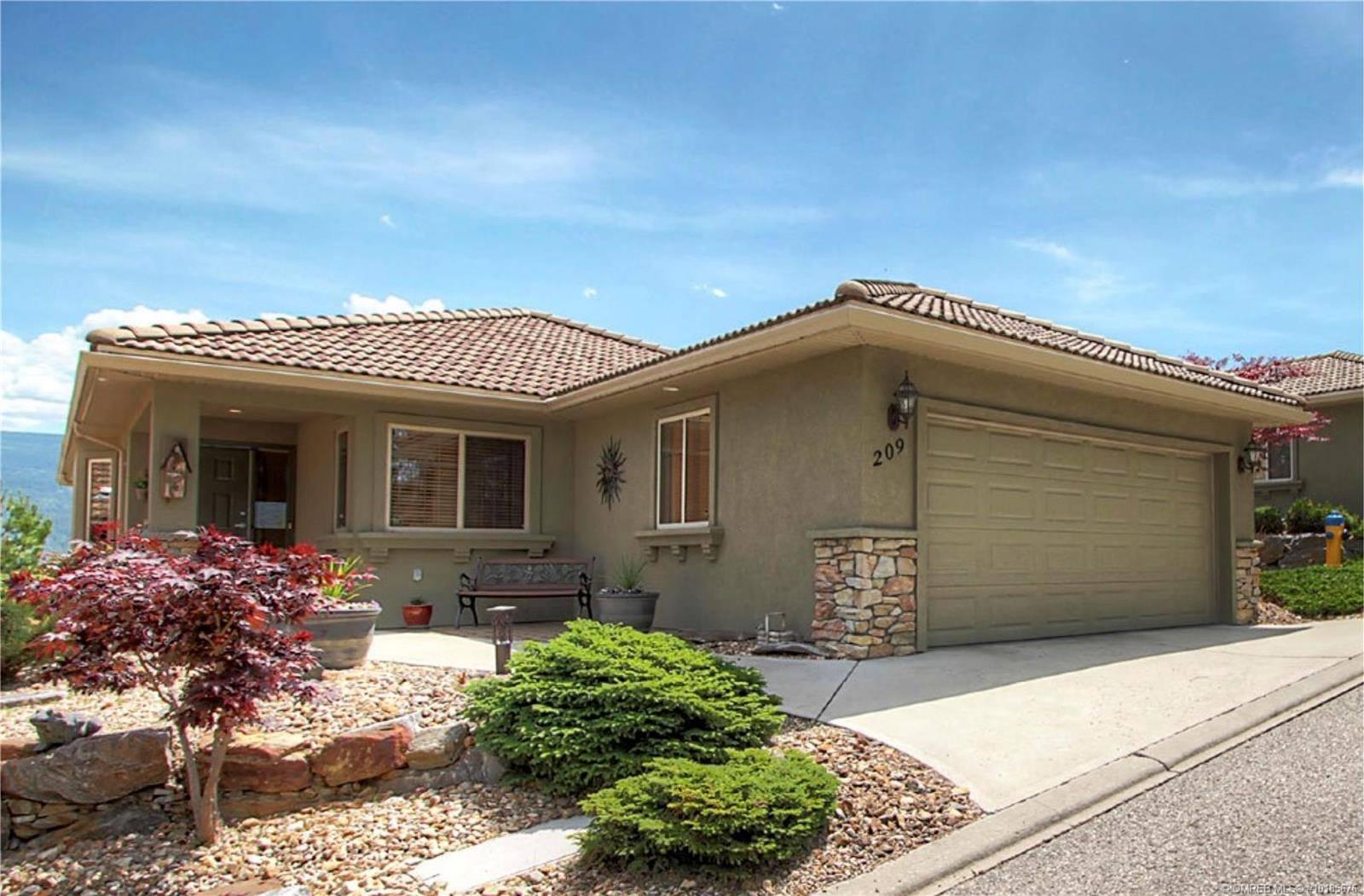 Townhouse for sale at 2455 Quail Ridge Blvd Unit 209 Kelowna British Columbia - MLS: 10185676
