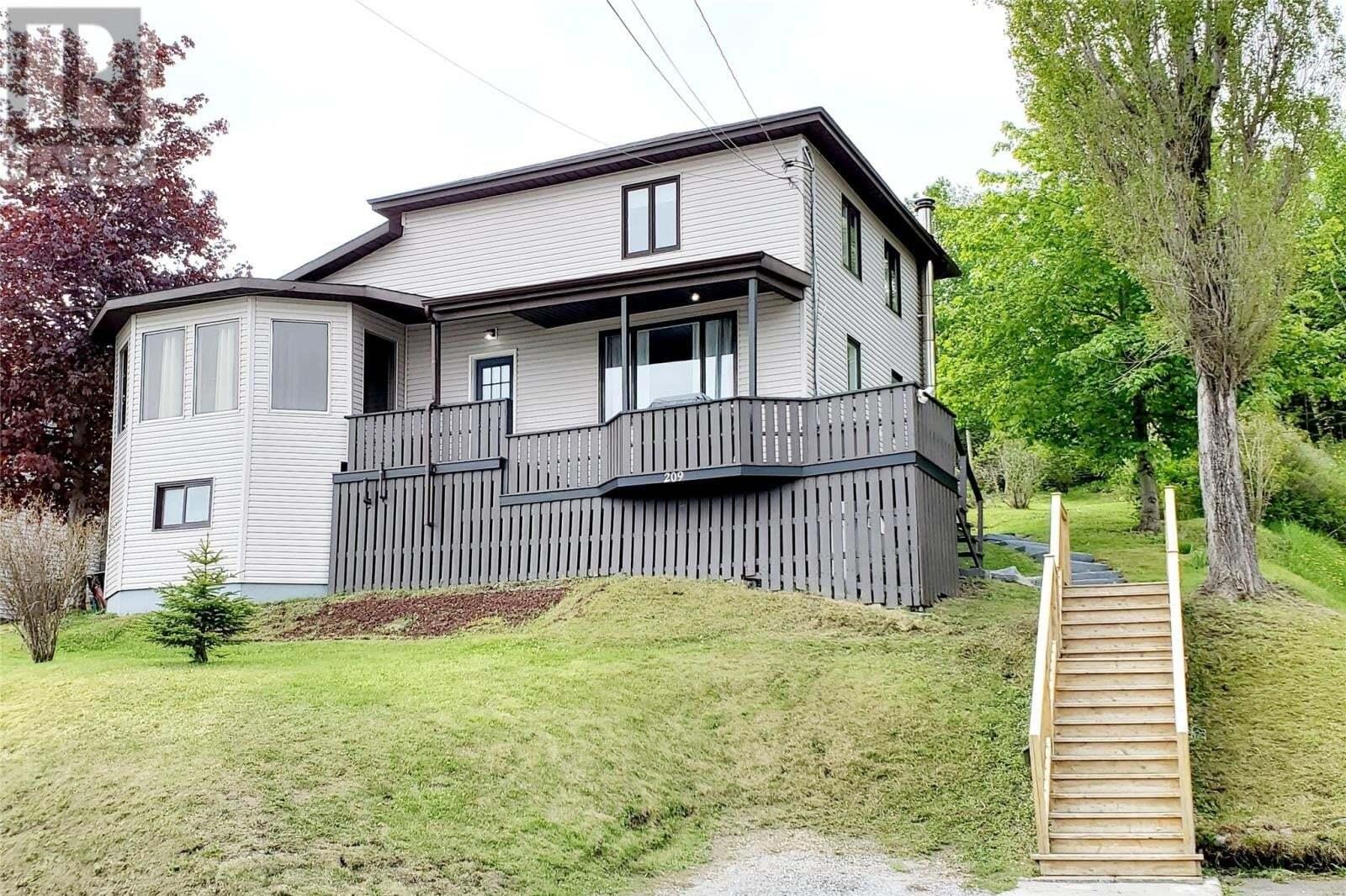 House for sale at 209 Curling St Corner Brook Newfoundland - MLS: 1216215