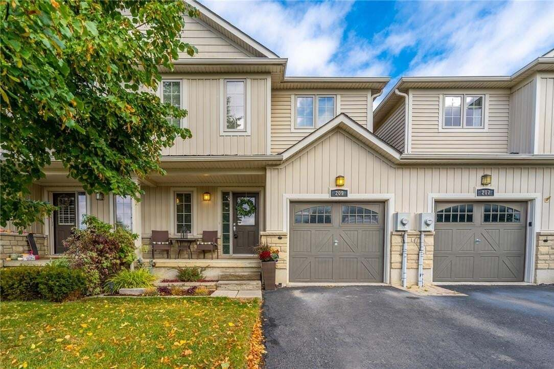 Townhouse for sale at 209 Fall Fair Wy Binbrook Ontario - MLS: H4090279