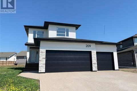 House for sale at 209 Greenall St Balgonie Saskatchewan - MLS: SK782127
