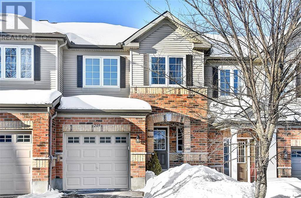 Townhouse for sale at 209 Morel Pt Stittsville Ontario - MLS: 1182514