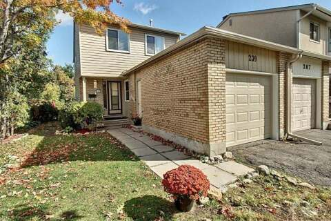 House for sale at 209 Sherway Dr Nepean Ontario - MLS: 1213352