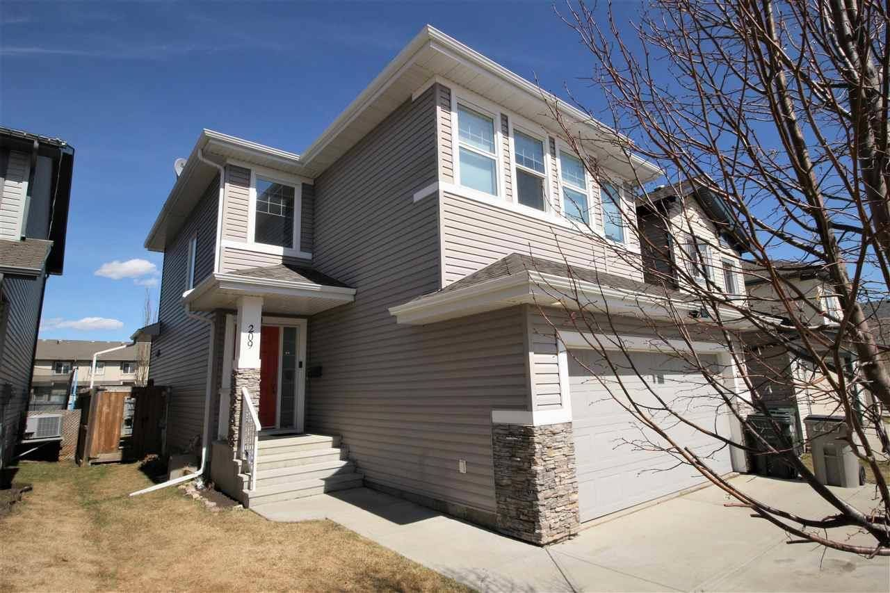 House for sale at 209 Silverstone Cres Stony Plain Alberta - MLS: E4187056