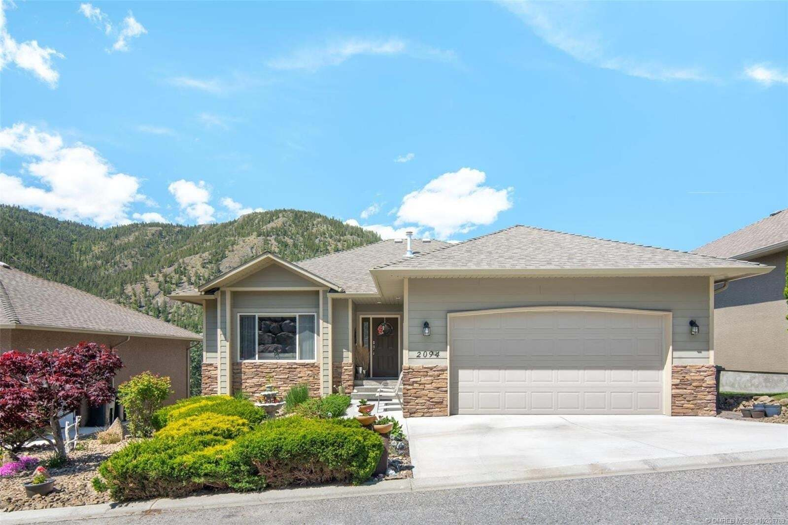 House for sale at 2094 Cornerstone Dr West Kelowna British Columbia - MLS: 10206789