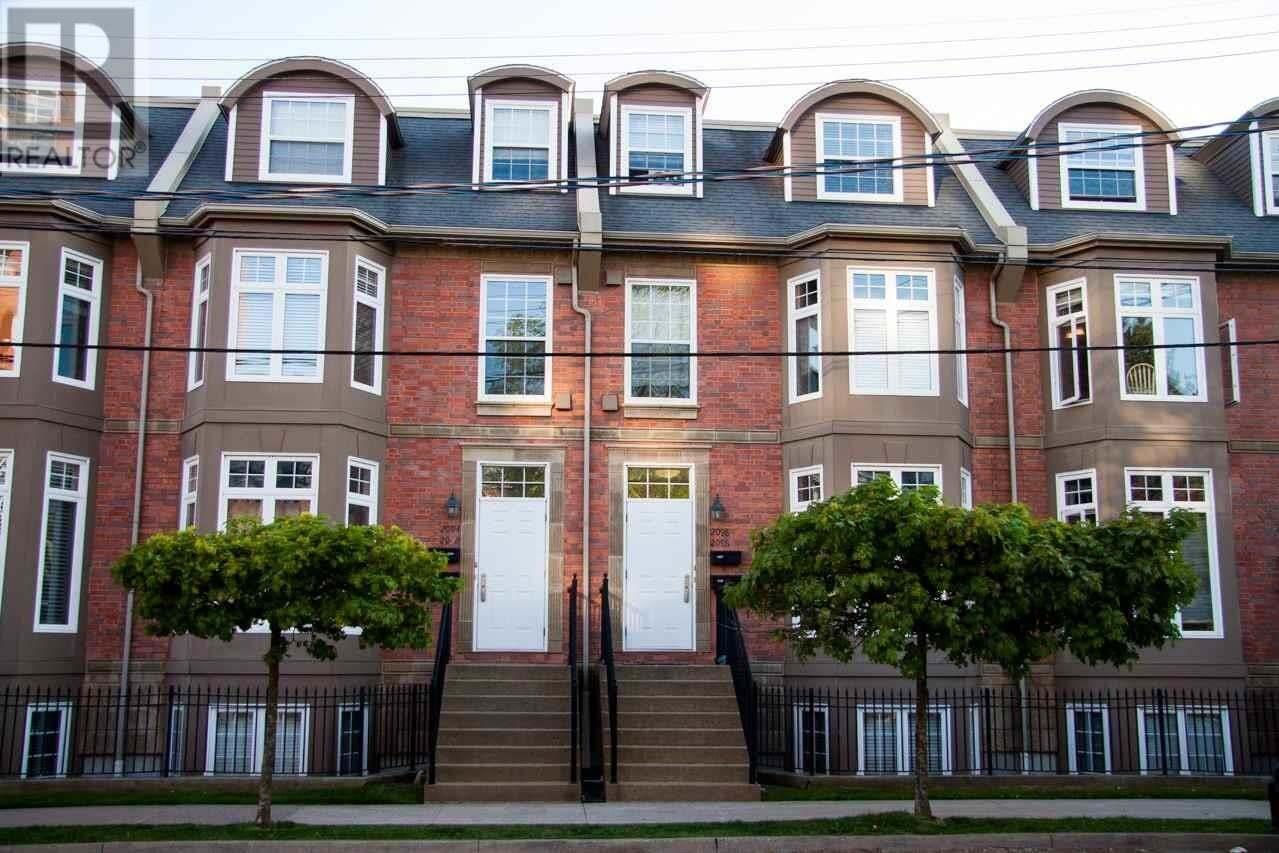 Townhouse for sale at 2096 Brunsiwck St Halifax Nova Scotia - MLS: 202008784